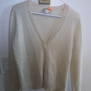 Cashmere Off White Sweater 💛